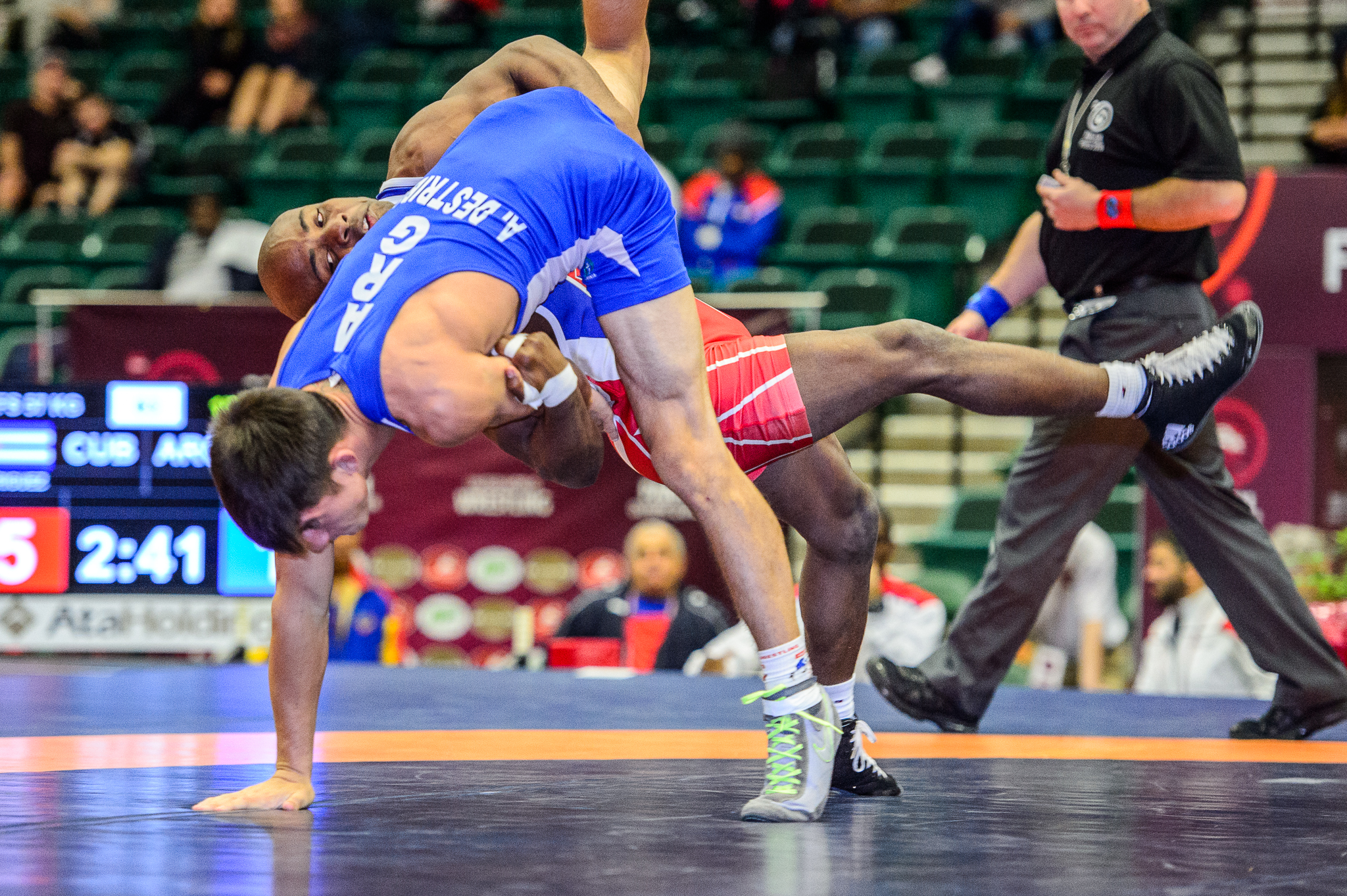 Pan American Olympic Qualifier Men's Freestyle | United