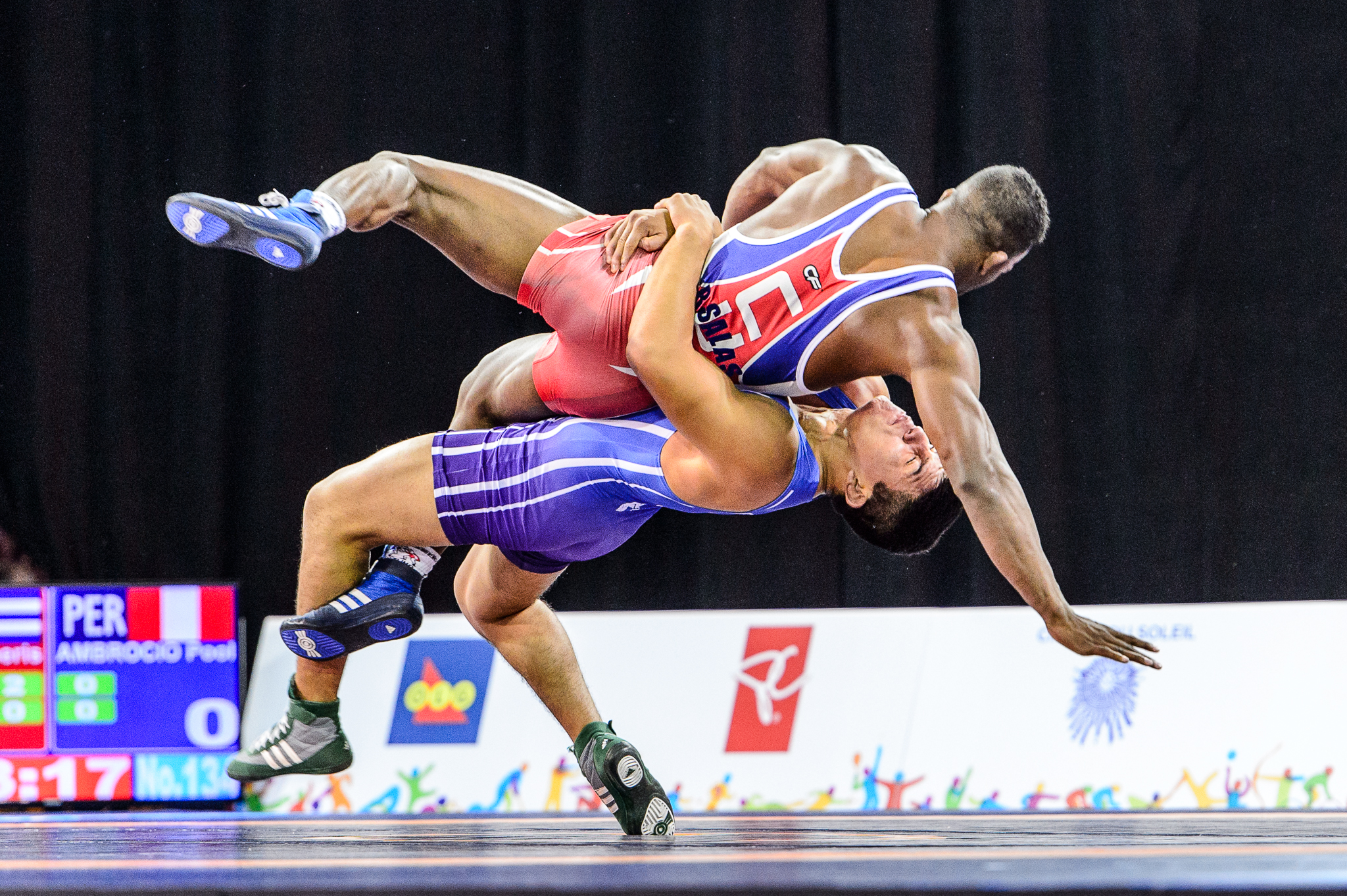 pan american games 2016 wrestling