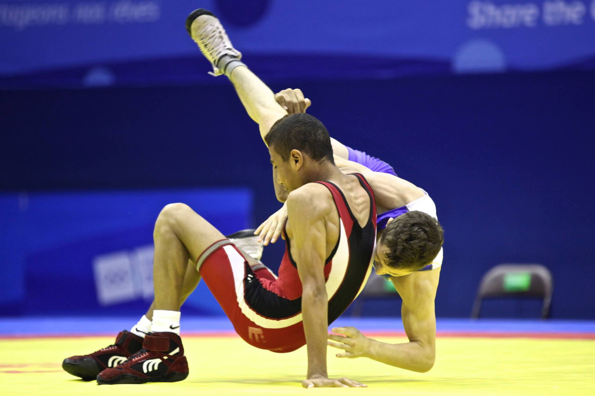 Youth olympic games men s freestyle united world wrestling