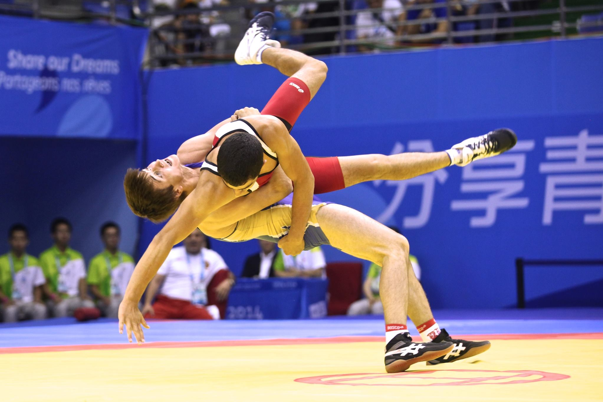 Youth olympic games greco roman united world wrestling