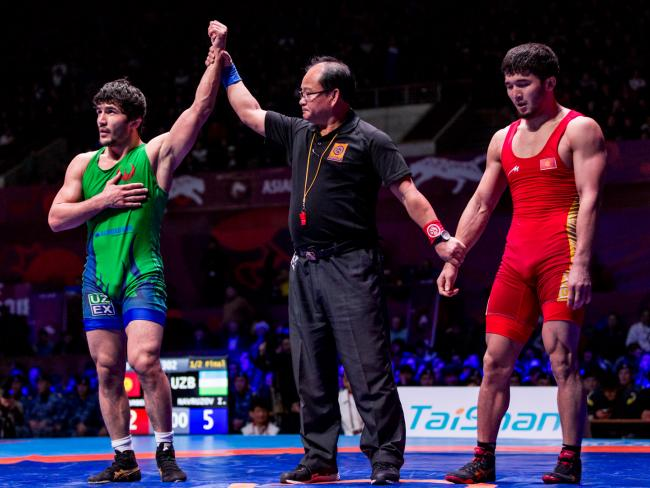 Uzbekistan Opens Asian Freestyle with Wrestlers in Four of Five Finals |  United World Wrestling