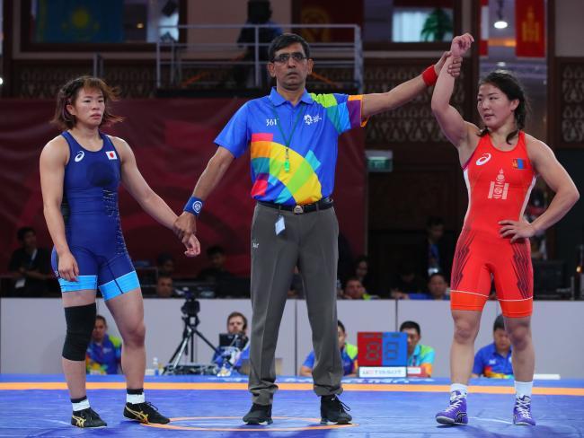 Japanese Women Jolted in Jakarta, Fail to Strike Gold as World Champs  Falter | United World Wrestling