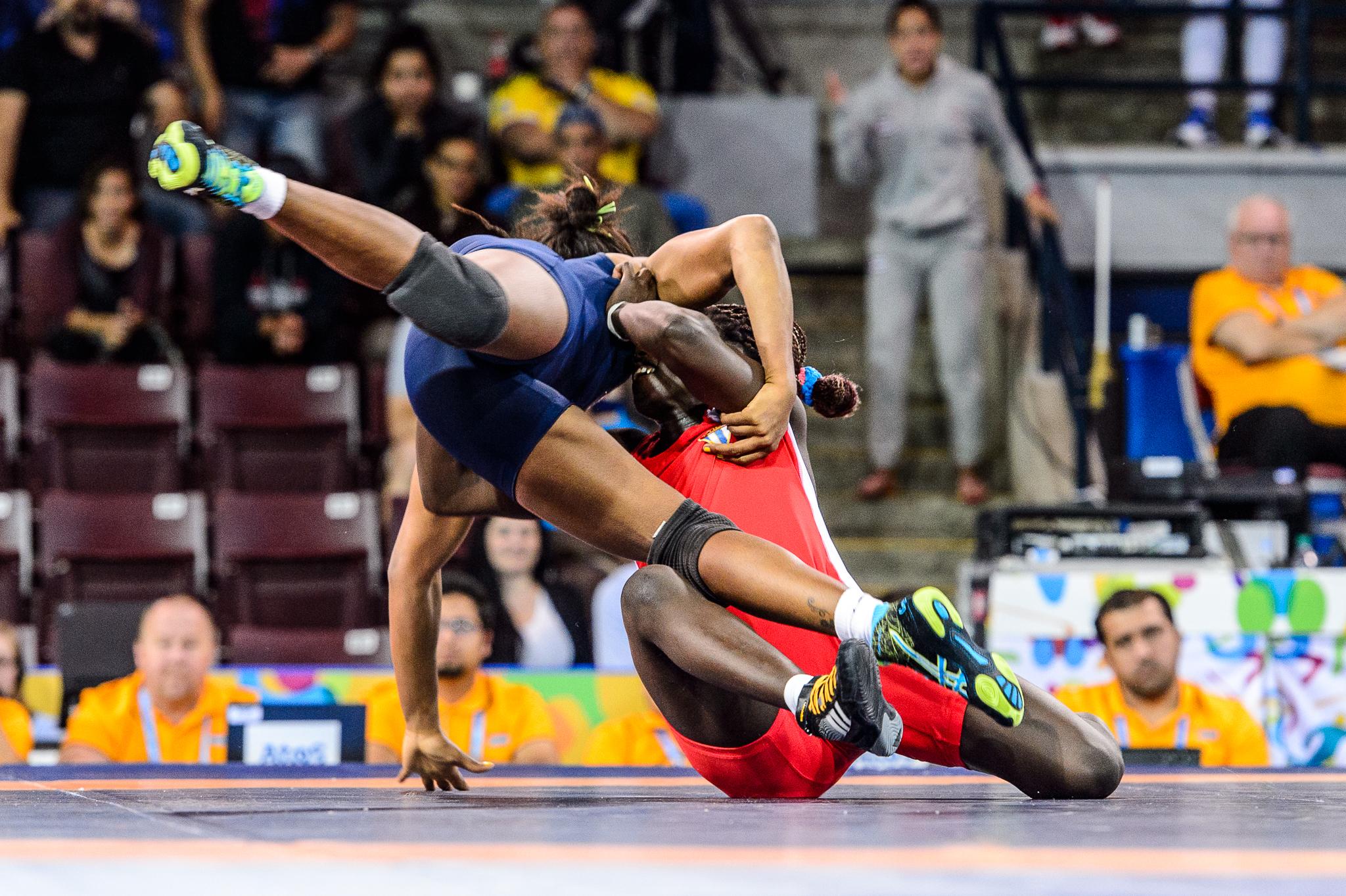 pan american games 2016 wrestling